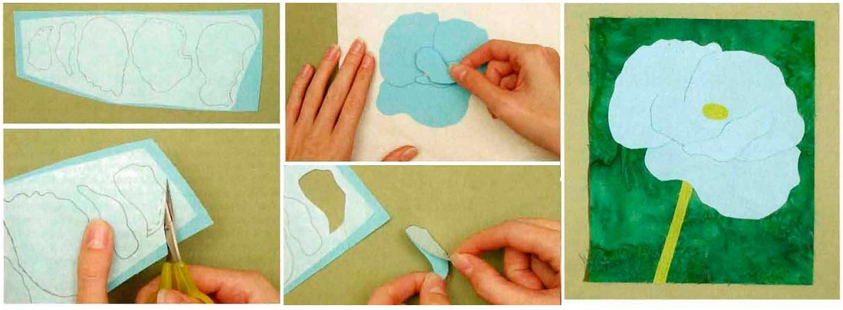Аппликация на ткань своими руками