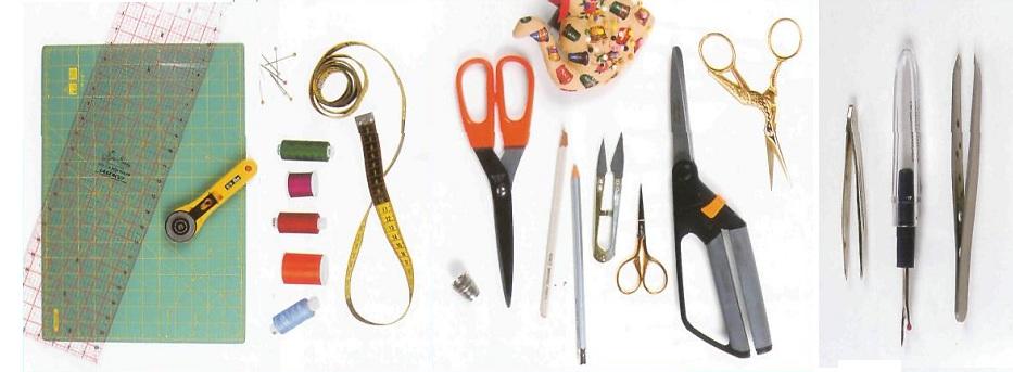 Принадлежности для лоскутного шитья