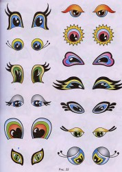 разные формы глаз