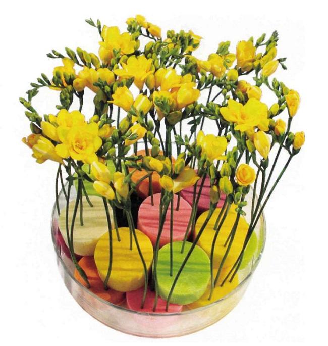 Как работать с оазисом для цветов