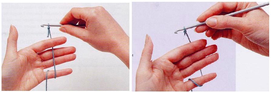 Как сделать узелок крючком с 765