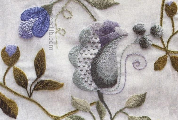 Вышивка нитками мулине для начинающих