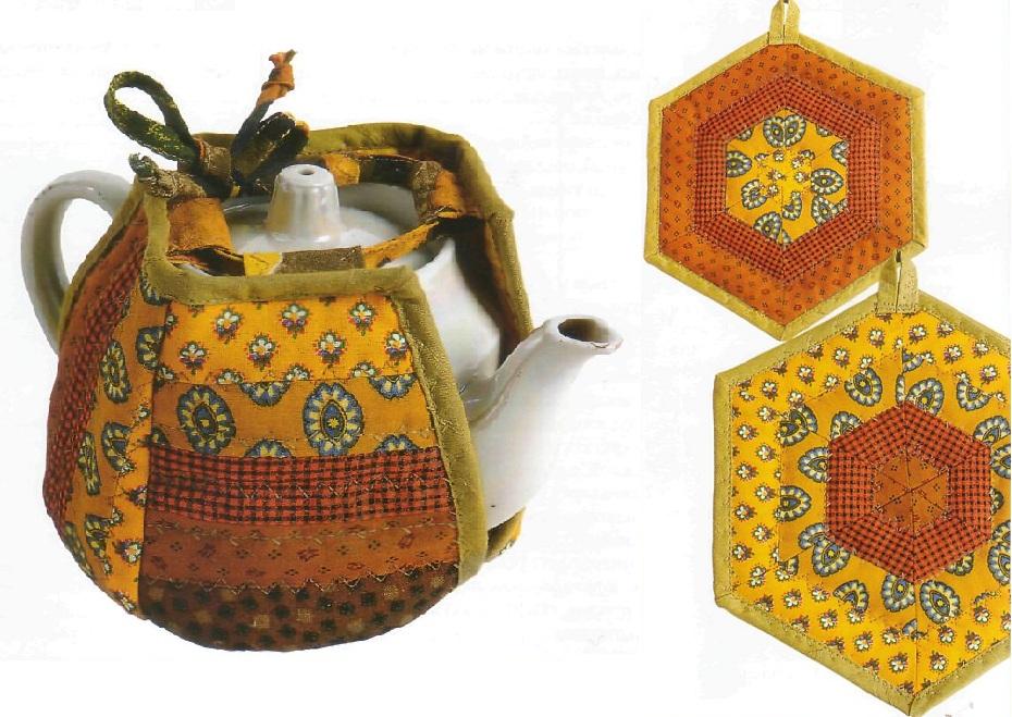 Грелки на чайник и прихватки