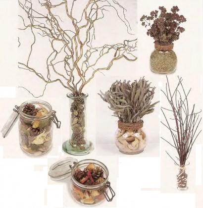сосуды для букетов сухоцветов