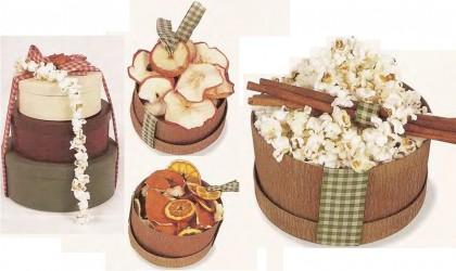 коробочки для букетов из сухозветов
