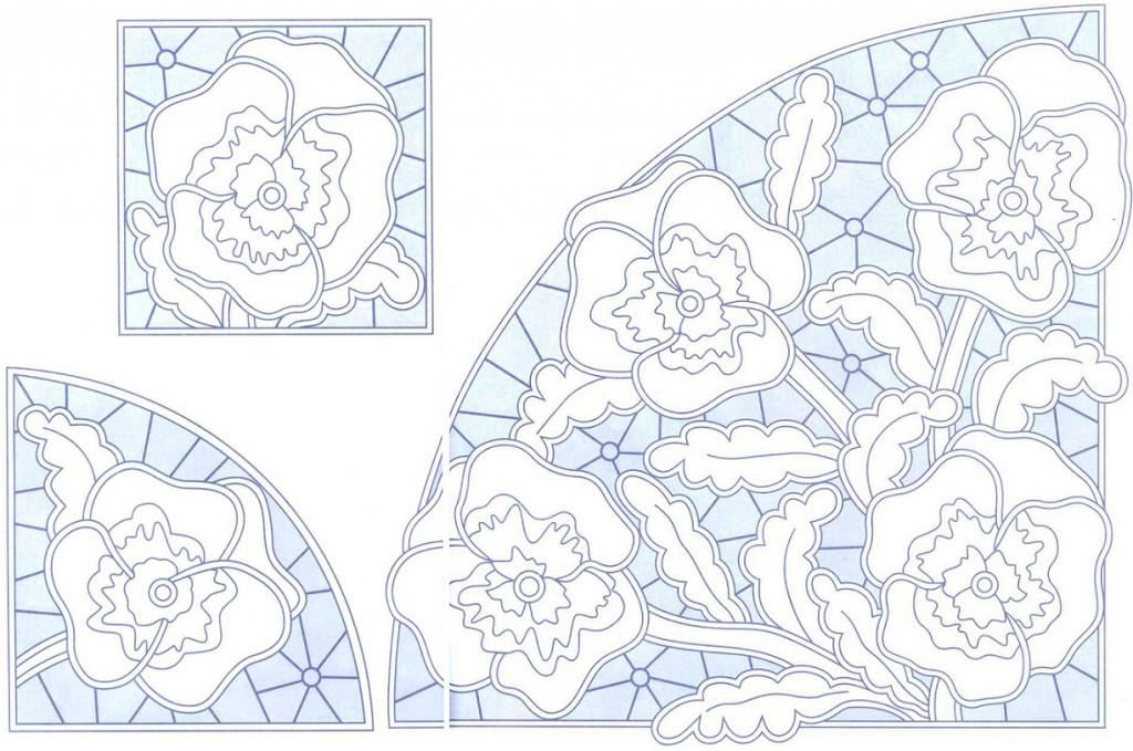 Вышивка ришелье руками схемы шаблоны 951