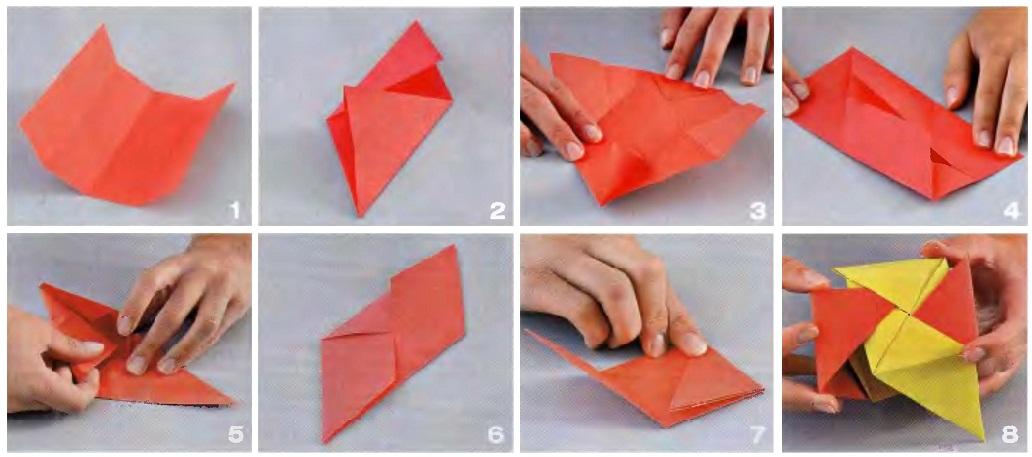 Как сделать из бумаги самые лёгкие 9