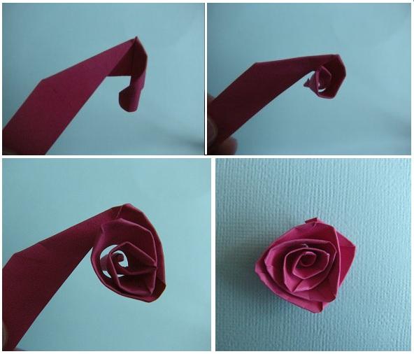 Как сделать розу для квиллинга 129