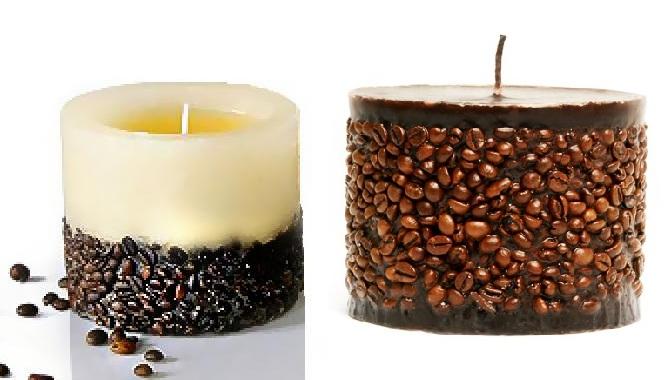 Красивые свечи своими руками с фото