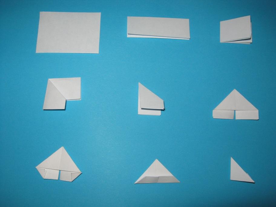 Белая бумага для оригами