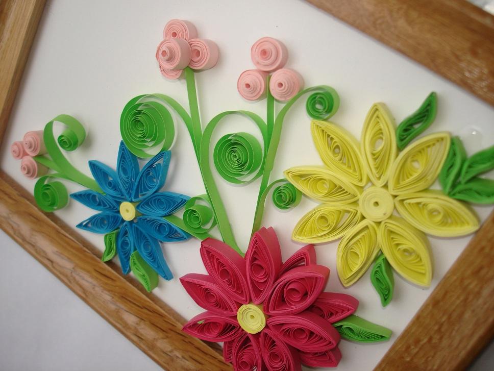 Цветы квиллинг своими руками