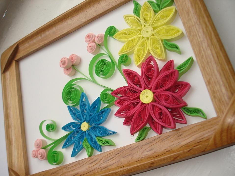 Поделки своими руками квиллинг для начинающих цветы