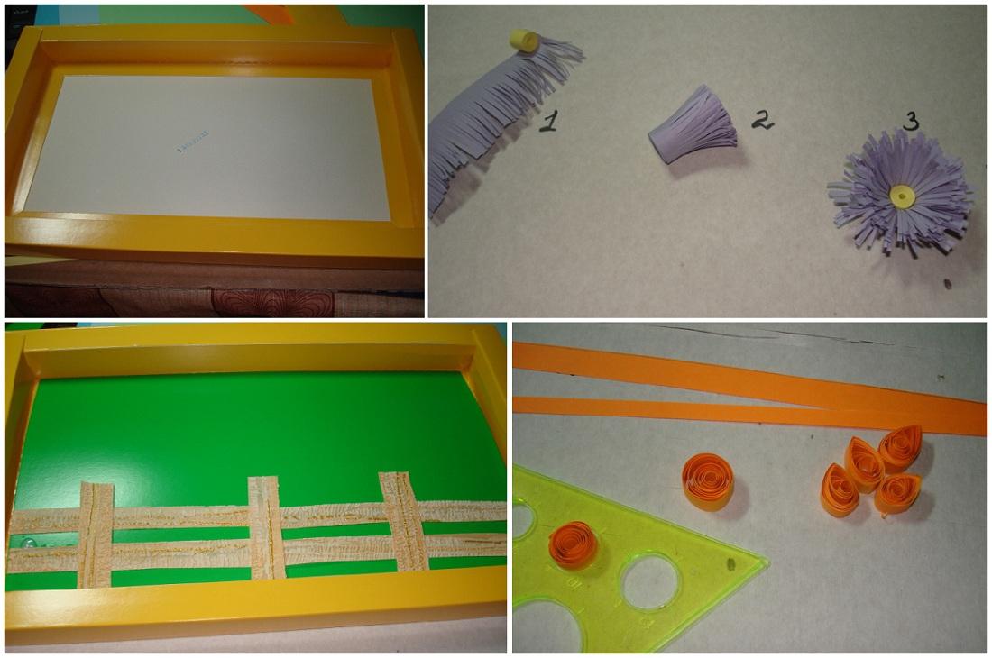 Как сделать из бумаг забор