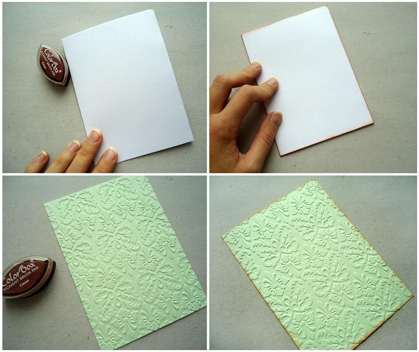 Какую бумагу для открыток использовать