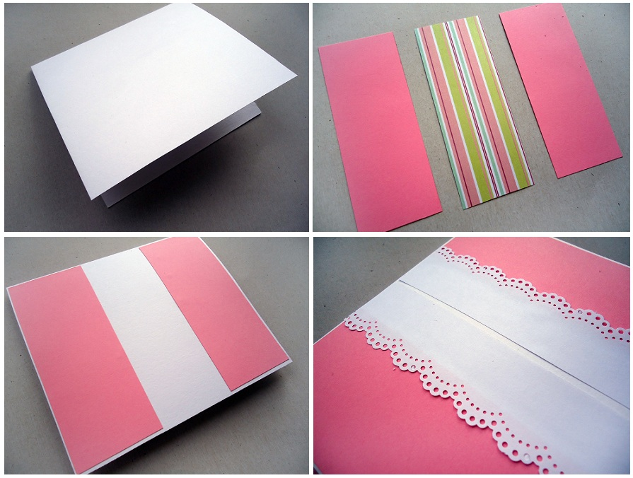 Из какой бумаги делают основу для открыток