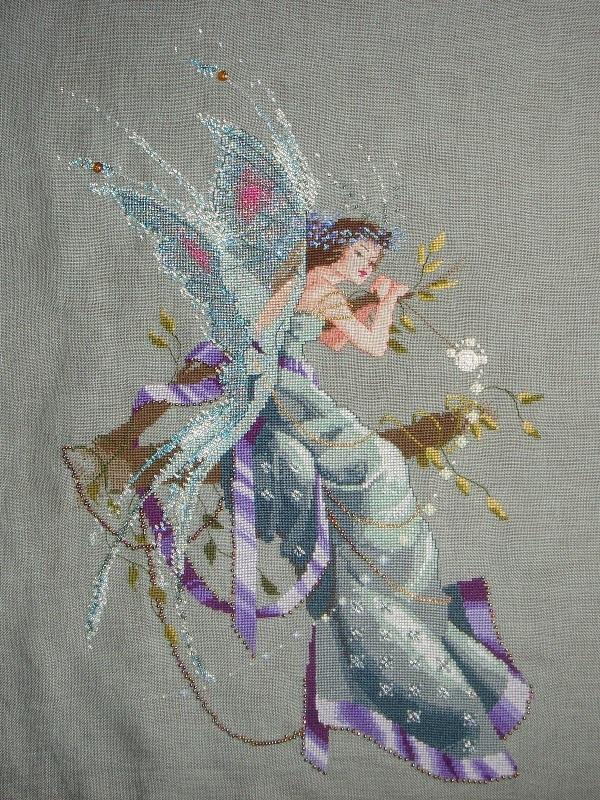 Вышивка фея бесплатно скачать