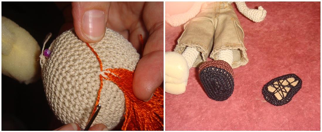 Как делает вязать куклам - Вязаные игрушки своими руками. Как сделать куклу - амигуруми