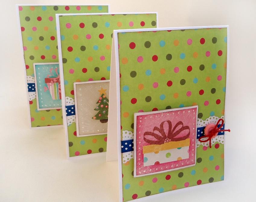 Идеи открытки скрапбукинг новый год