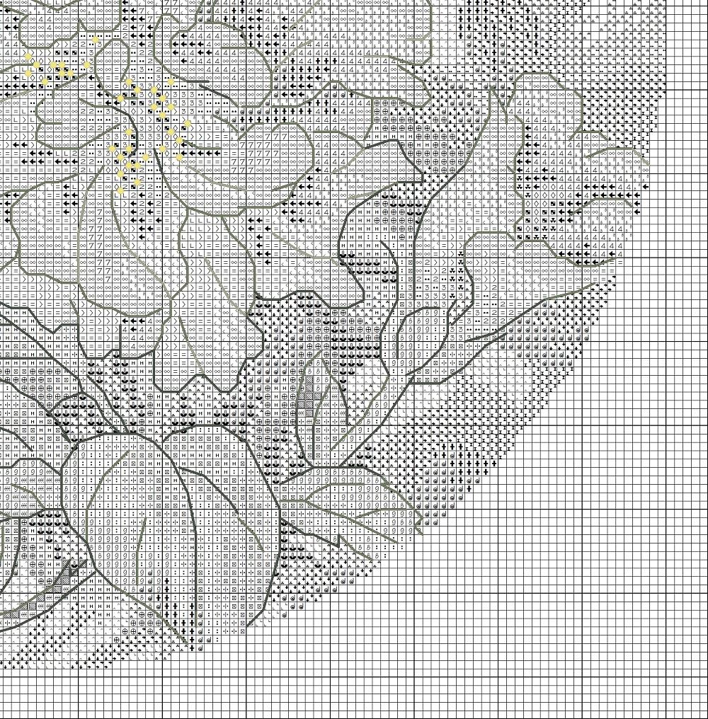 вышивка бисером колибри схема