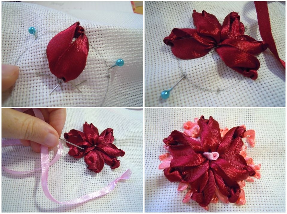 Цветы в рукоделии