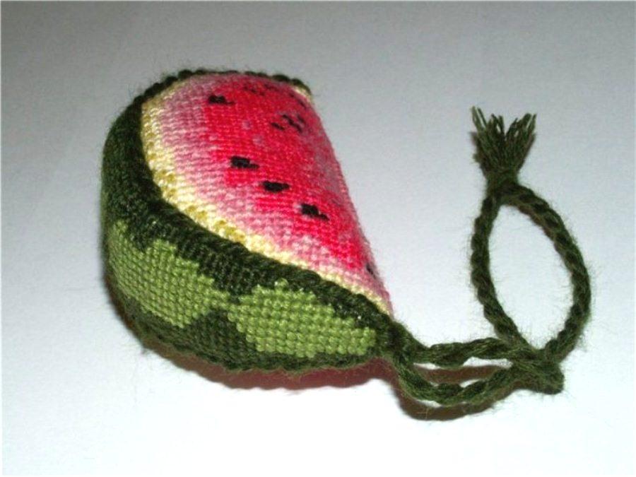 Схему игольницы арбуз