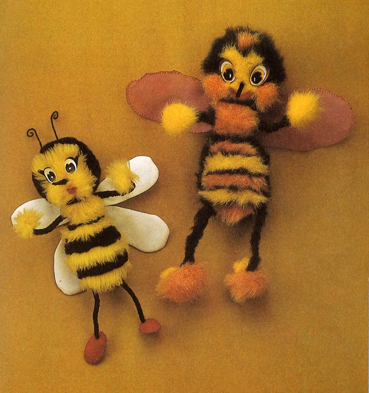 Пчелка своими руками как сделать