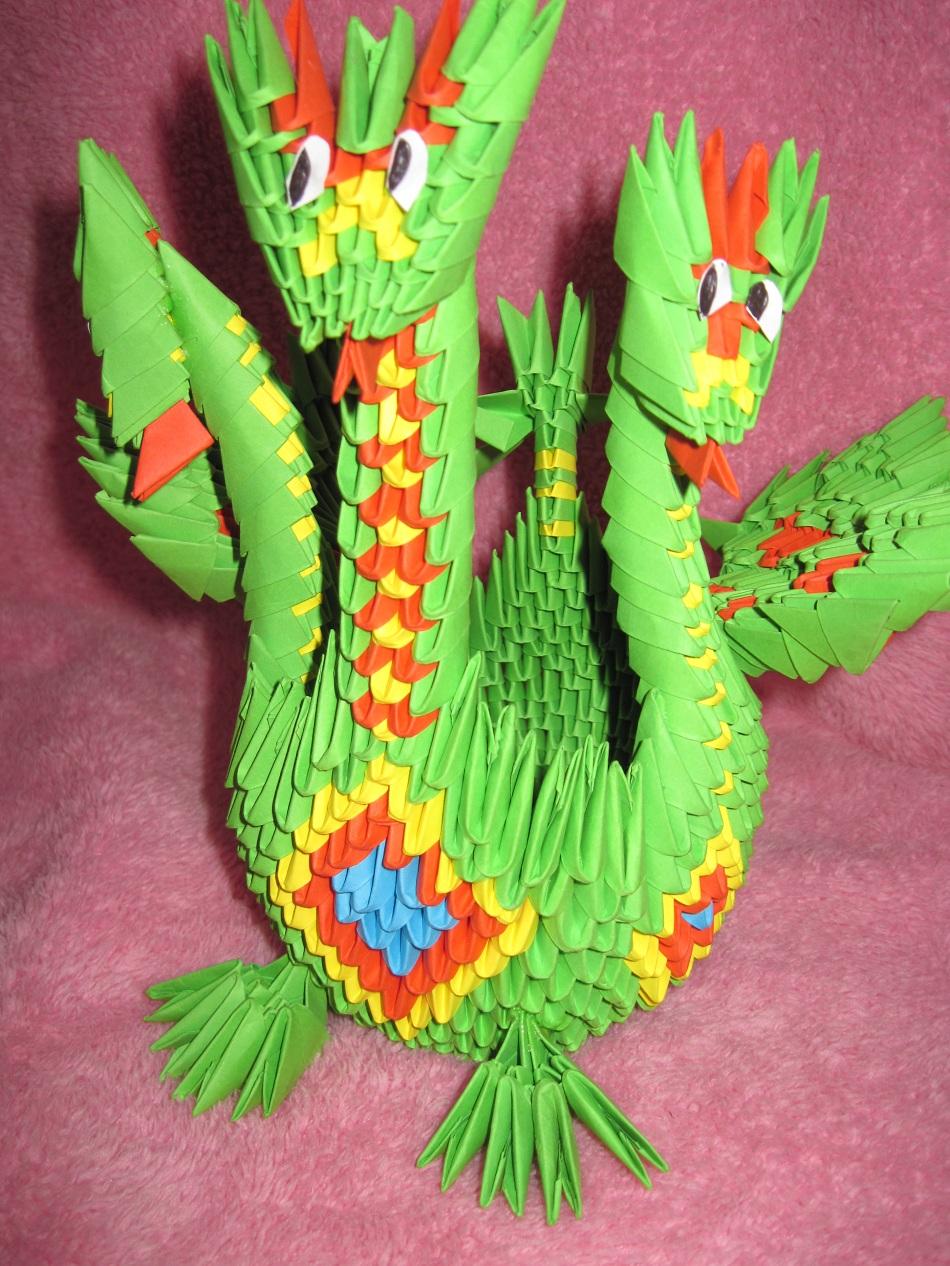 схема оригами раконов