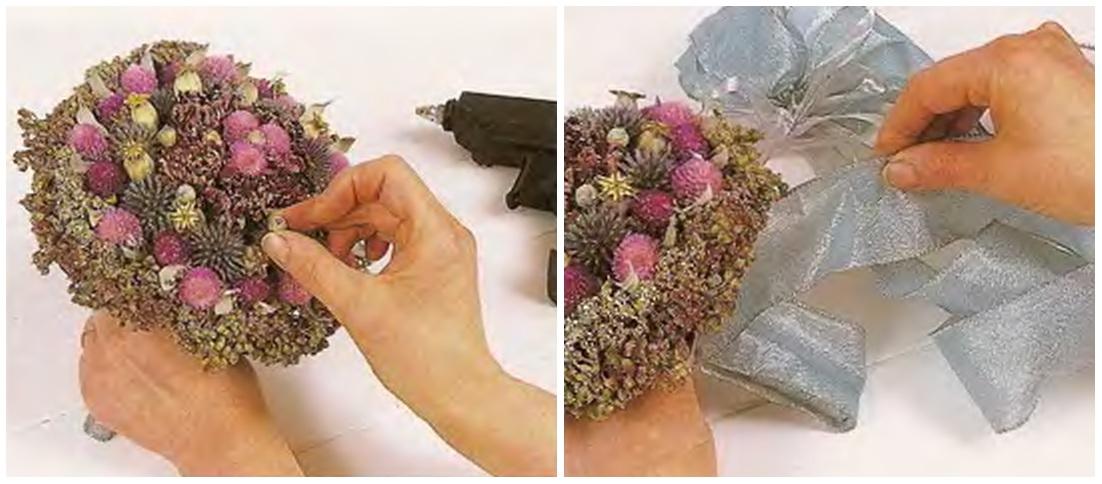 Как сделать букет из цветов своими руками мастер 302