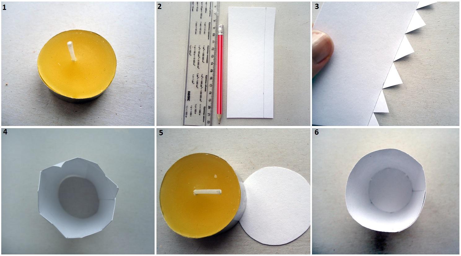 Как сделать цилиндры из картона