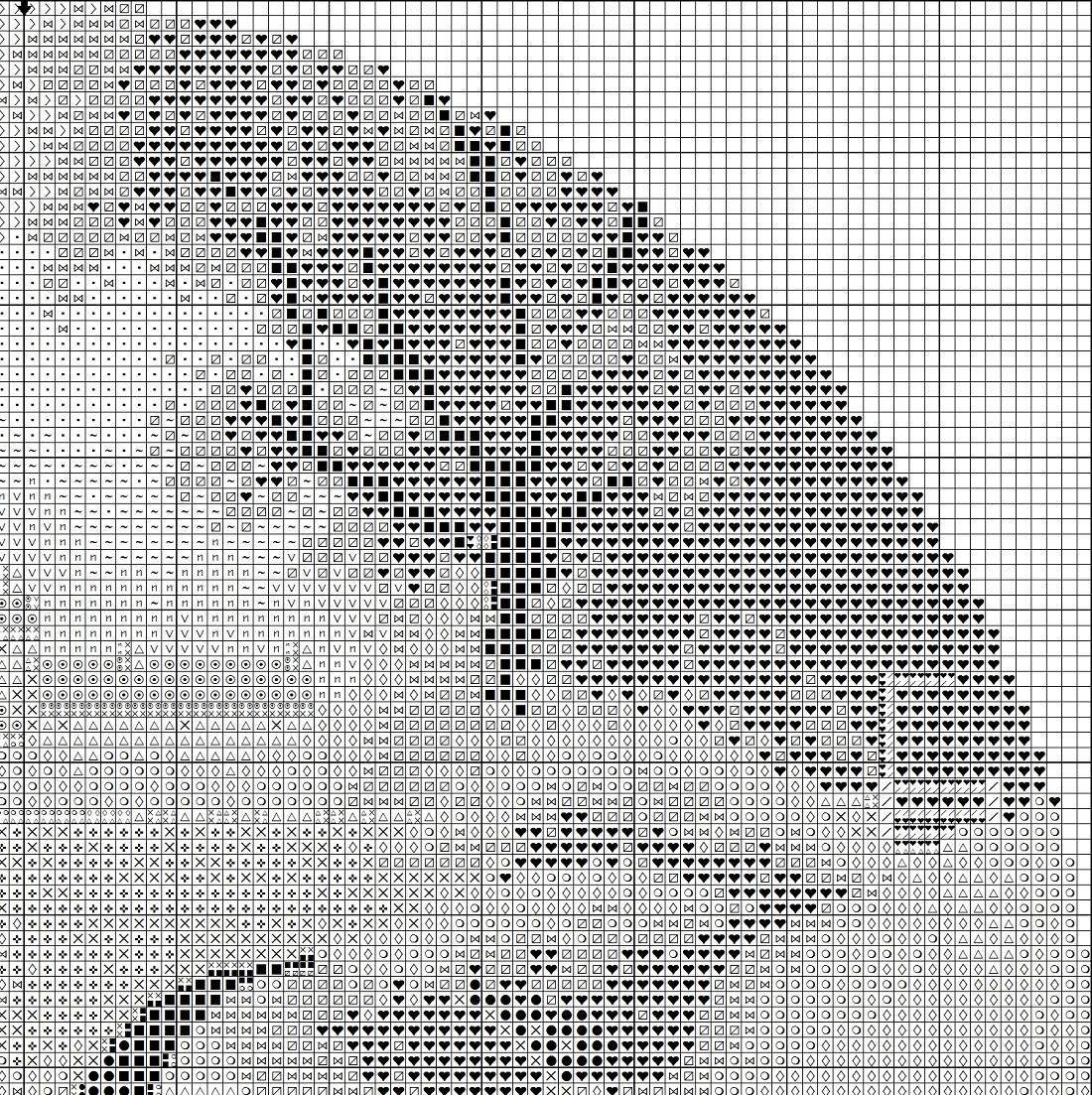 Круги клейтона вышивка схема