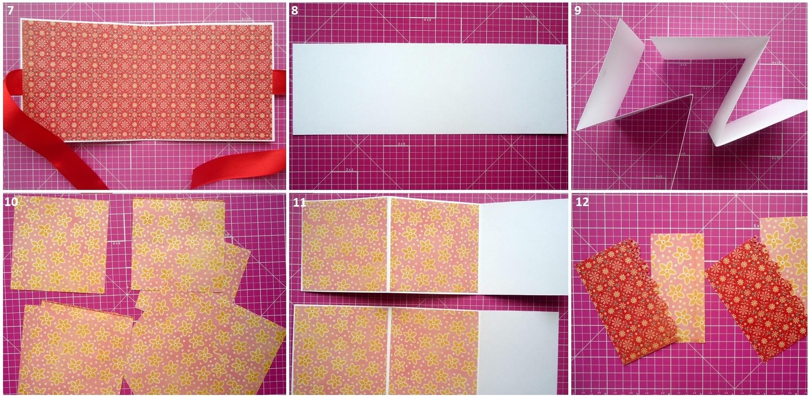 Как сделать раскладушку для фото в скрапбукинге
