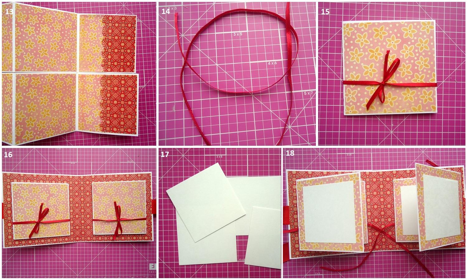 Как сделать альбом для открыток своими руками
