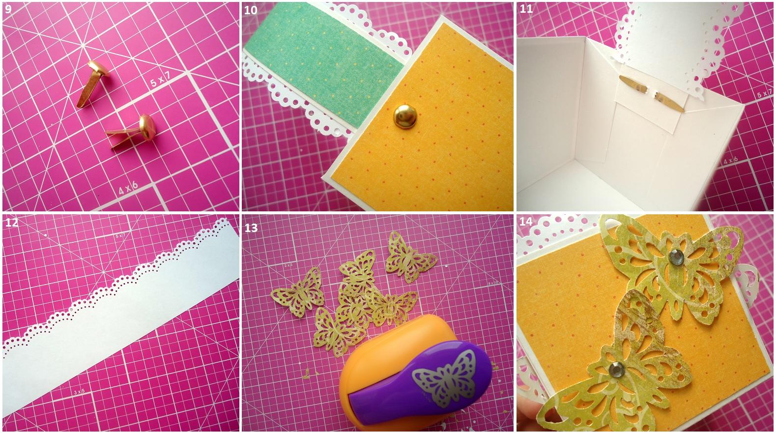 Как сделать из скрапбукинга коробочку