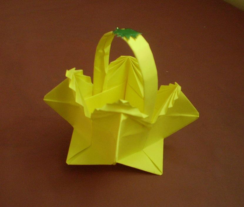 Корзинки модульное оригами своими руками 70