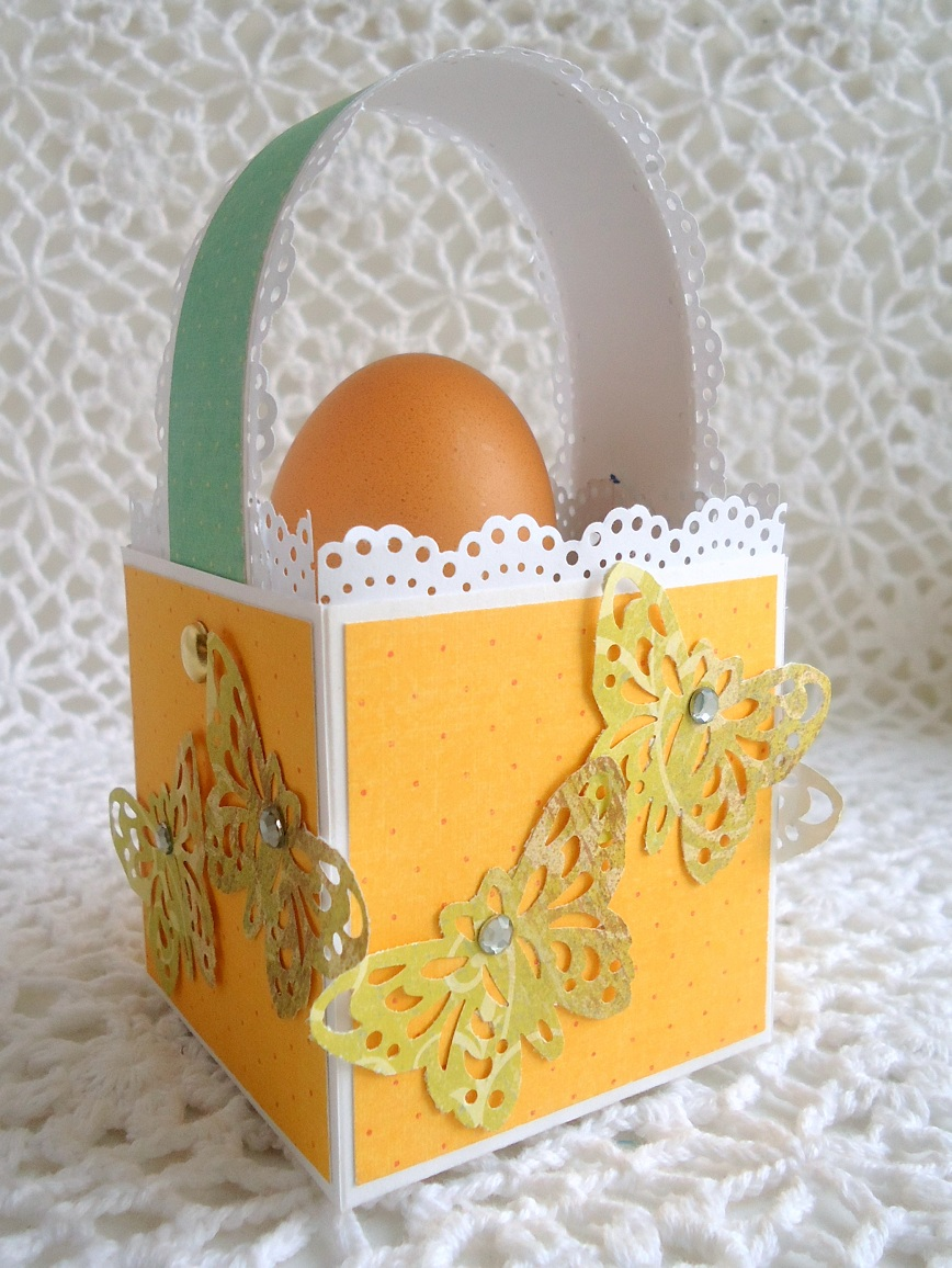корзинка из открытки на пасху приколы