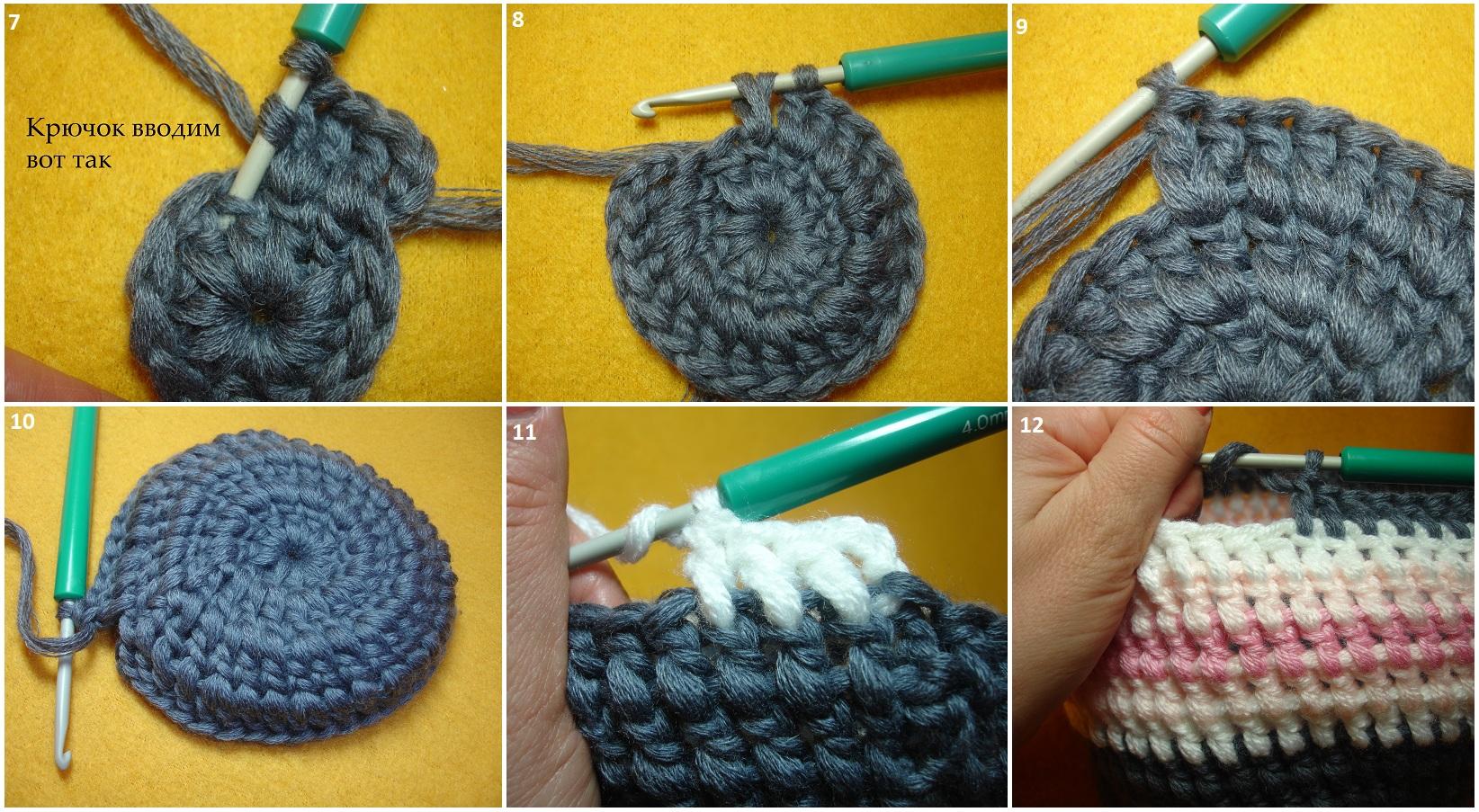 Мастер-класс по вязанию шапочки крючком   Вязание для детей   В ... 1fa2241e897a1