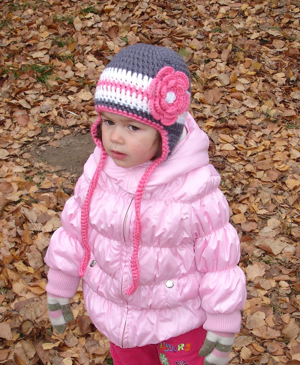Вязаная шапочка для девочек своими руками фото 1000