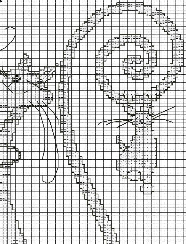 Вышивка забавных котов