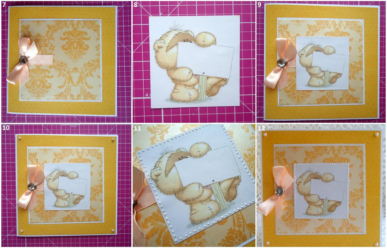 Как сделать детскую открытку из фото, елочки лесу