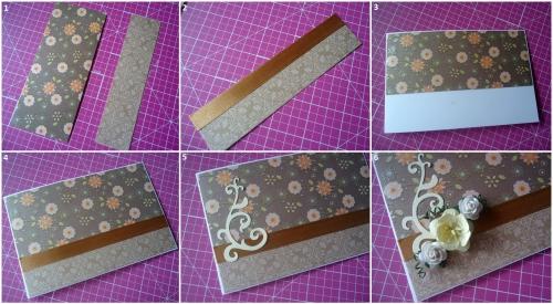 Какие можно сделать открытки из бумаги своими руками 88
