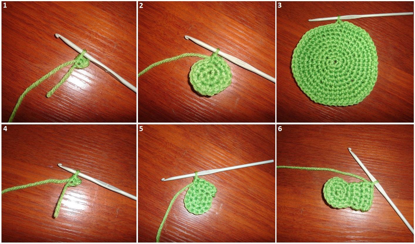 Вязание крючком для начинающих пошагово с фото цветы