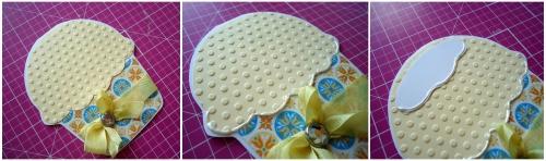 Как сделать открытку в виде пироженого