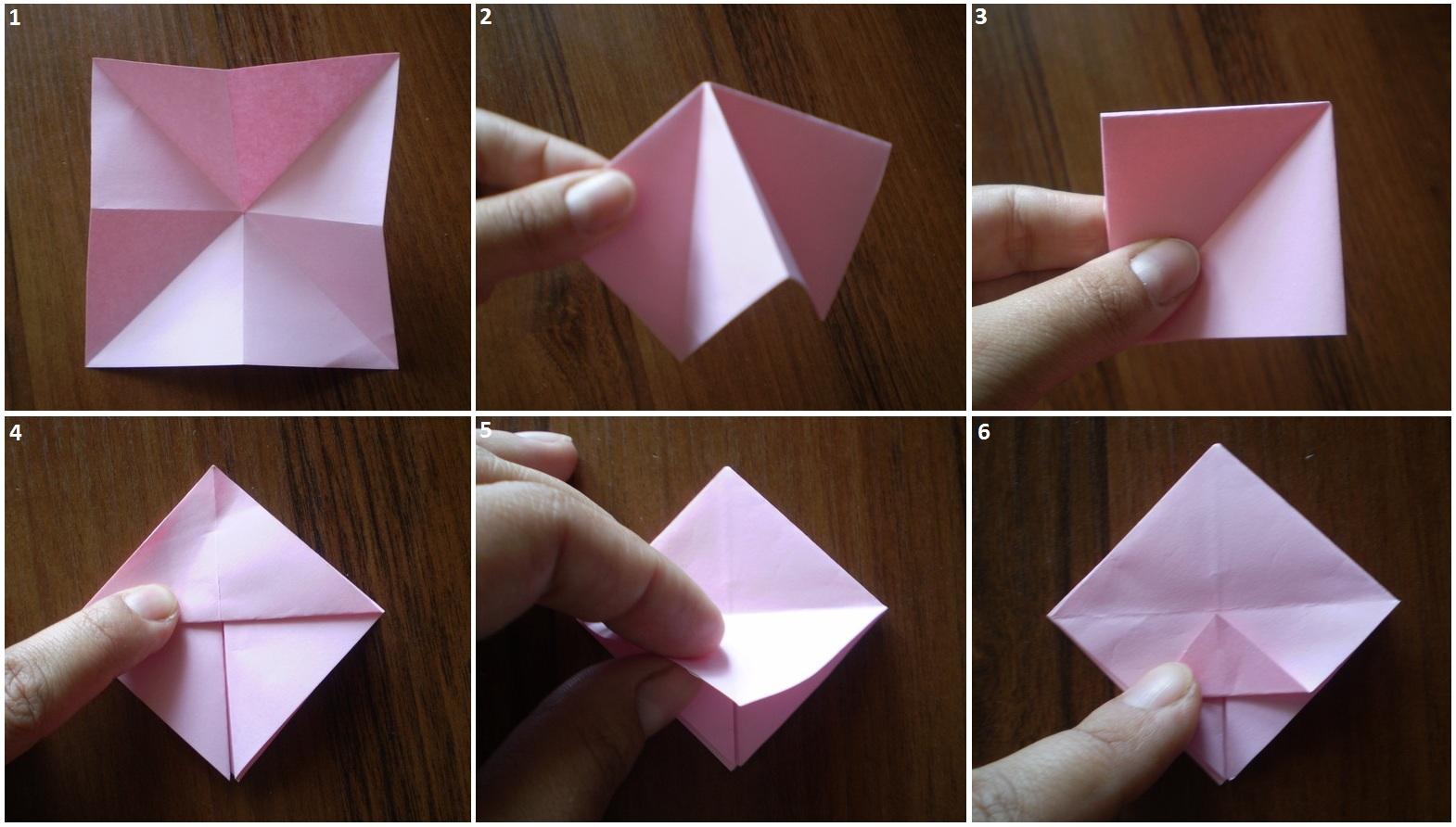 Фоторамка оригами из бумаги своими руками