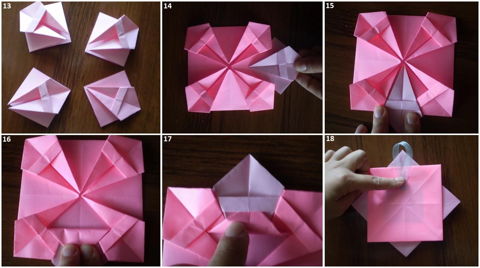 Фоторамка своими руками оригами