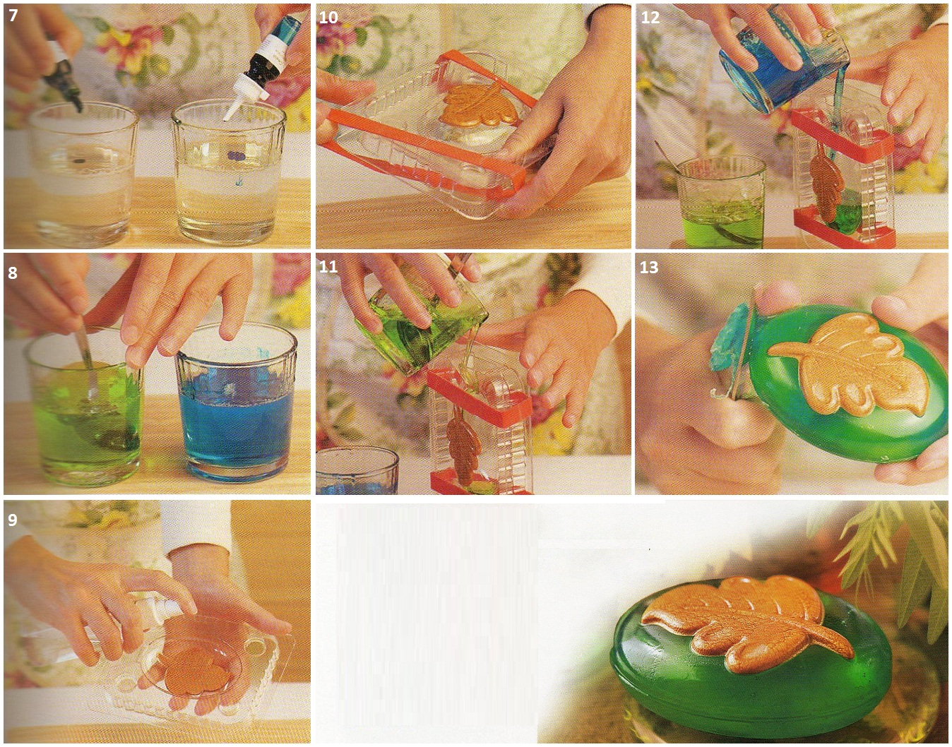 Приготовить мыло в домашних условиях из обмылков 843