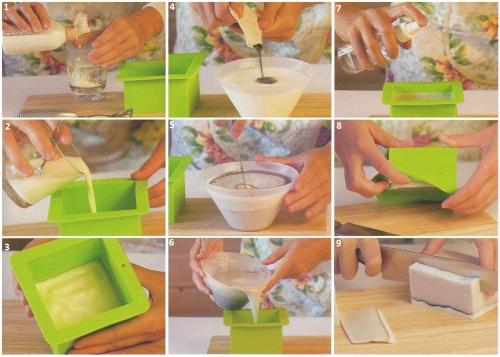 Изготовление мыла ручной работы в домашних