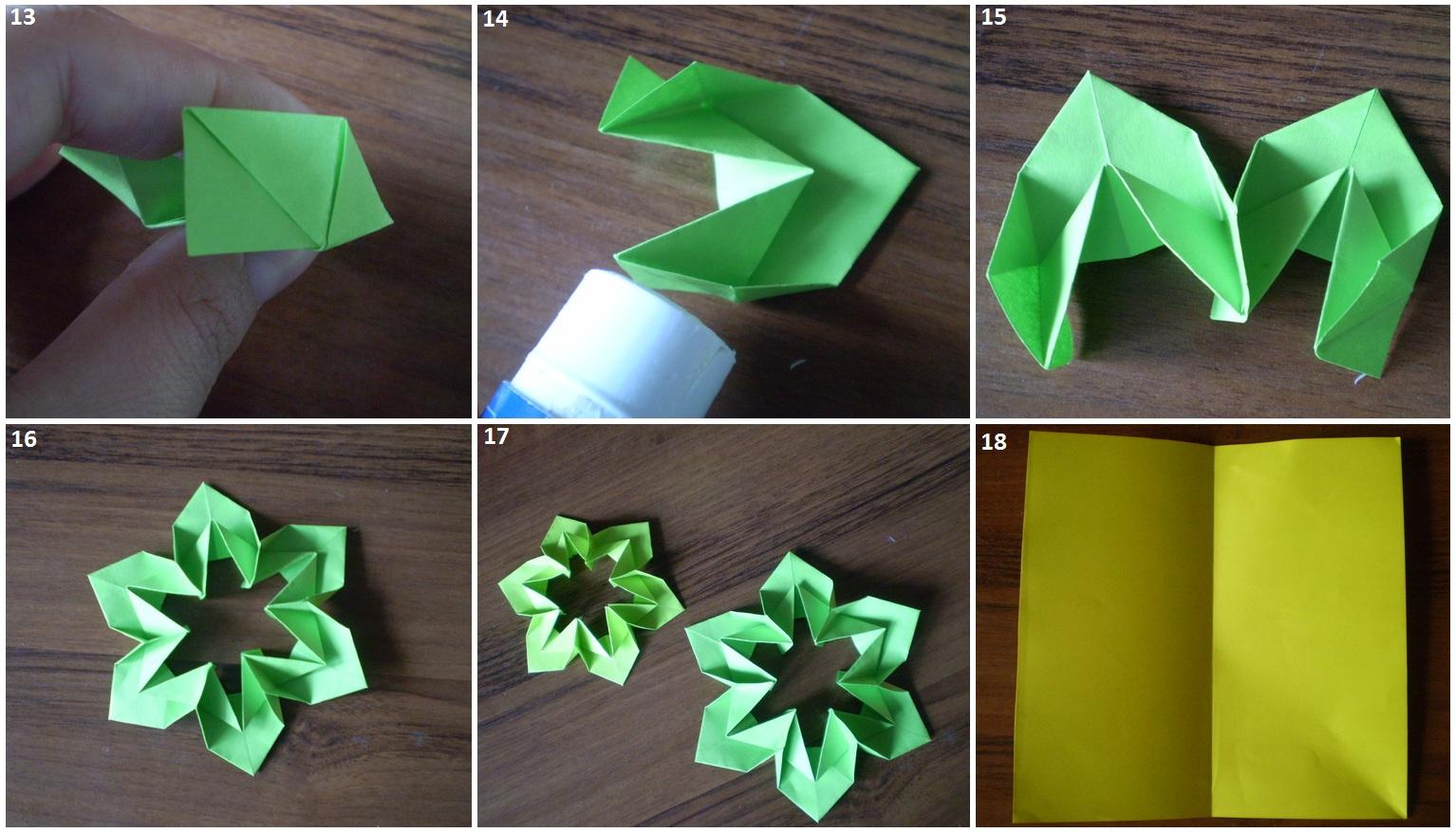 Как сделать модуль цветок