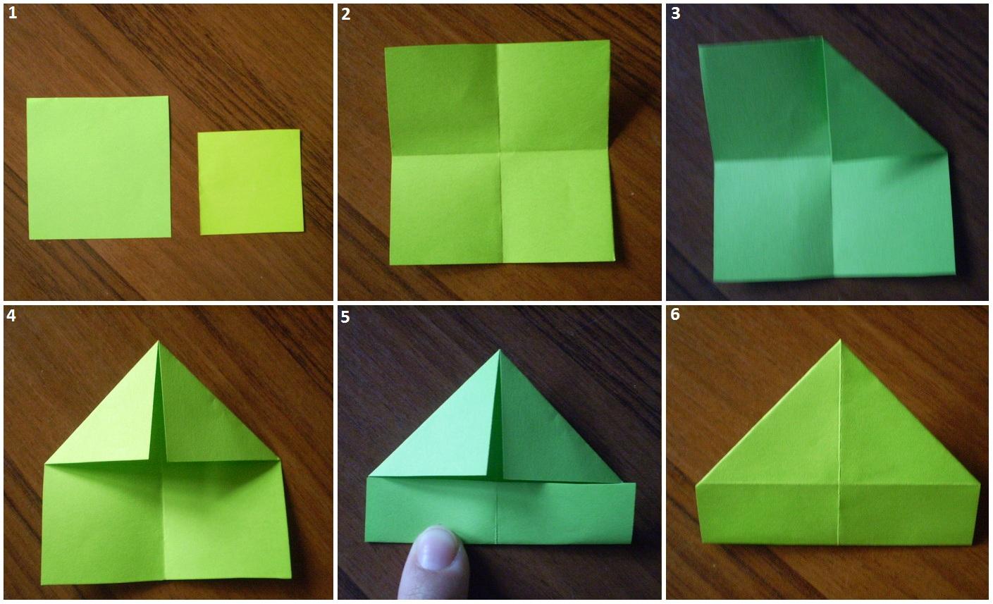 Поделка из маленьких квадратиков