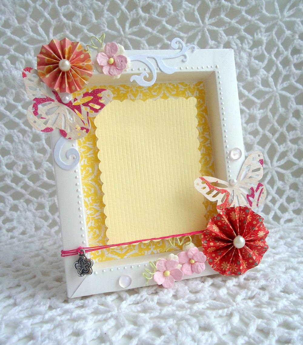 Своими руками, как сделать рамку для фото из открытки