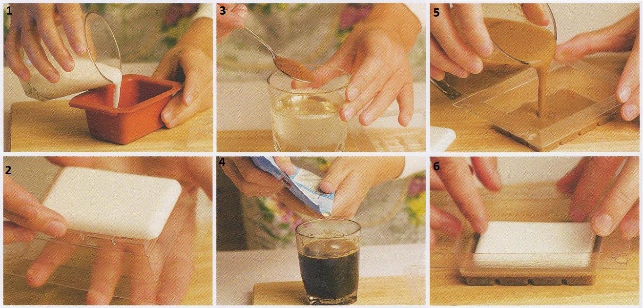 Мыло в домашних условиях формочки